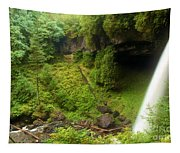 North Falls Waterfall Tapestry