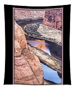 North Side Of Horseshoe Bend Tapestry