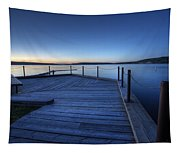 Northern Lake Evening Tapestry