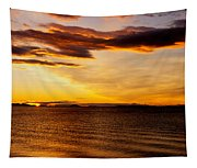 Northern Sunset Tapestry