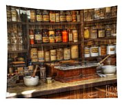 Nostalgia Pharmacy 2 Tapestry