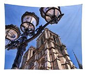 Notre Dame Tower Tapestry