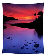 Nova Scotia Sunrise Tapestry