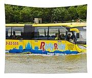 Novel River Boat Tapestry