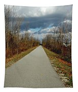 November On Macomb Orchard Trail Tapestry