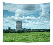 Nuclear Cooling Tower Tapestry