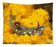 Nudibranch On Sponge Tapestry