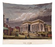 Nyc: The Tombs, 1850 Tapestry