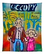 Occupy The Young And Old Tapestry