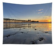 Oceanside Pier Tapestry