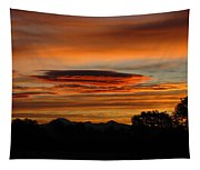 October's Colorful Sunrise 2 Tapestry