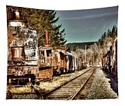 Off Track II Tapestry