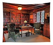 Office At Gillette Castle Tapestry