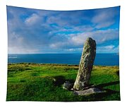 Ogham Stone, Dunmore Head, Dingle Tapestry