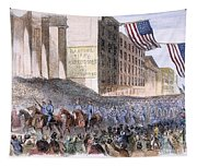 Ohio: Union Parade, 1861 Tapestry