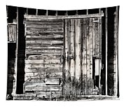 Old Barn Door Tapestry