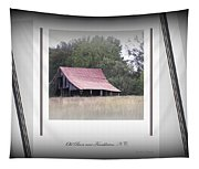 Old Barn - Edge Of The Field Tapestry