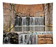 Old Erie Canal Locks Tapestry