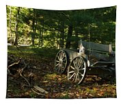 Old Frontier Wagon 1 Tapestry