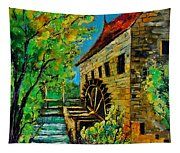 Old Mill Tapestry