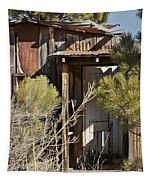 Old Miner's Cabin Tapestry