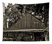 Old Spanish Sugar Mill Old Photo Tapestry