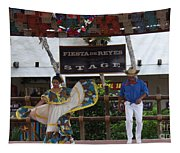 Old Towne San Diego Dancing Tapestry