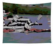 Olympic Lightweight Double Sculls Tapestry