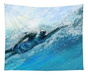 Olympics Swimming 03 Tapestry