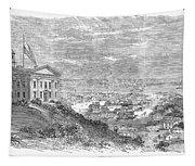 Omaha, Nebraska, 1869 Tapestry