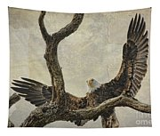 On Wings High Tapestry
