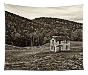 Once Upon A Mountainside Sepia Tapestry
