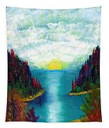 One More Sunset Tapestry