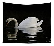 One Swan Tapestry