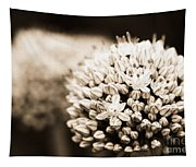 Onion Flowers Tapestry