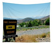 Only You Can Prevent Wildfires Tapestry