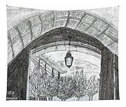 Opening Door To Light Tapestry