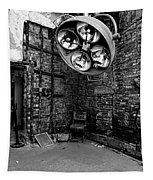 Operating Room - Eastern State Penitentiary - Black And White Tapestry