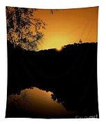 Orange Glow Tapestry
