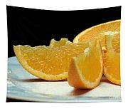 Orange Slices Tapestry
