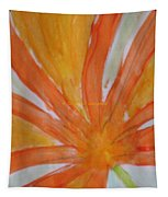 Oranje Bloemblaadje Tapestry