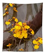 Orchid - Golden Morning  Tapestry