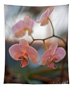 Orchid Gathering Tapestry