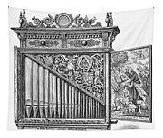 Organ Positive Tapestry