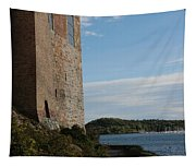 Oslo Castle And Harbor Tapestry