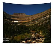Our Mountains Tapestry