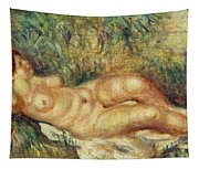 Outstretched Nude Tapestry