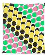 Overlayed Dots Tapestry