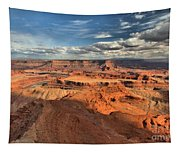 Overlooking Dead Horse Point Tapestry