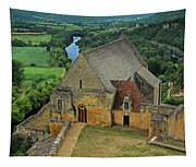 Overlooking The French Countryside Tapestry